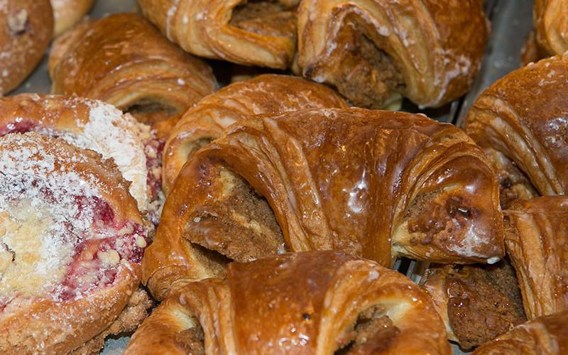 Nußplunder der Bäckerei Baumgartner in Görwihl, Waldshut