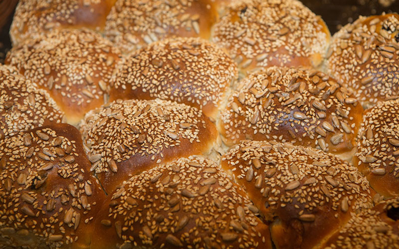 Rosinenbrötchen der Bäckerei Baumgartner in Görwihl, Waldshut