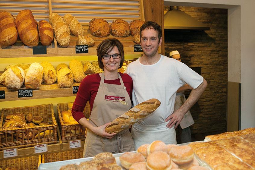 Die Inhaber in der 2. Generation Bäckerei Baumgartner in Waldshut, Görwihl